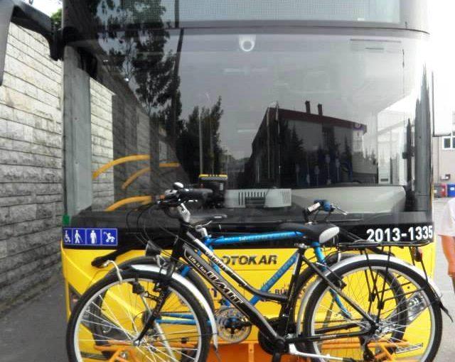 Bisiklet Taşıyan Otobüsler Törenle Hizmete alınıyor.