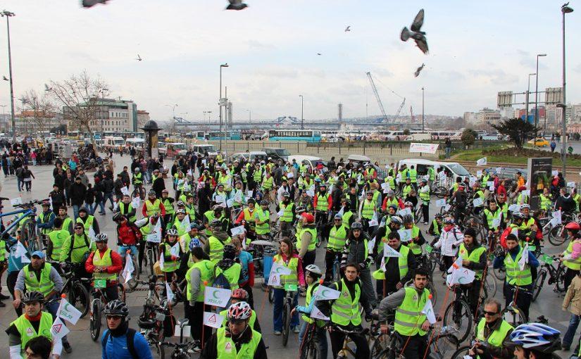 """""""Yaşamayı Seç"""" Diyenler Bisiklet Turu'nda Buluştu"""