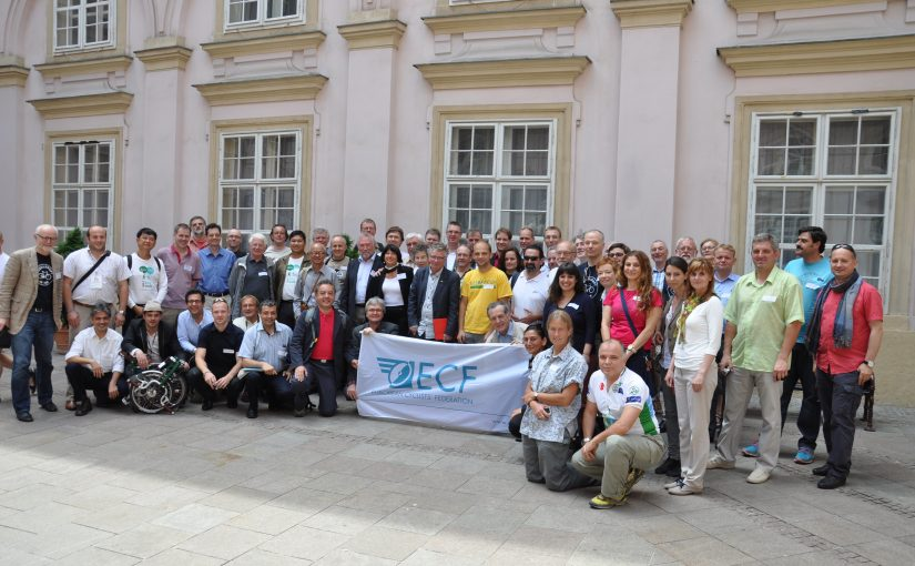 Avrupa Bisiklet Federasyonun-dayız