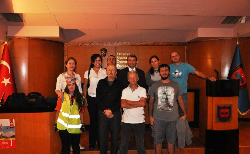 Bisikletliler Güç Birliği Toplantısı Yaptı