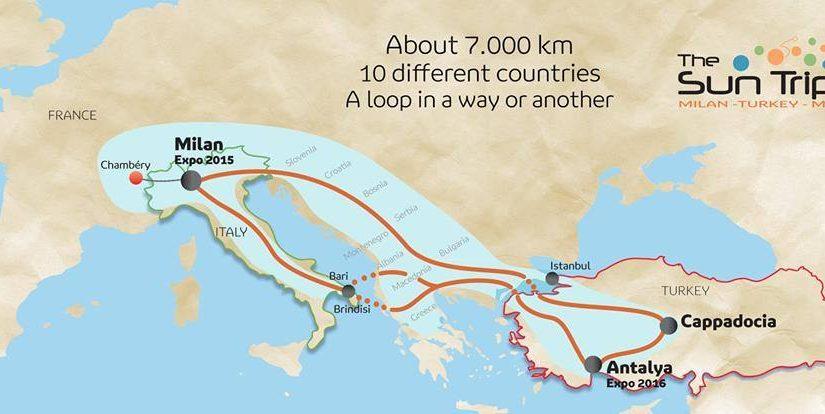 SUNTRIP2015 Milano – Antalya – Milano