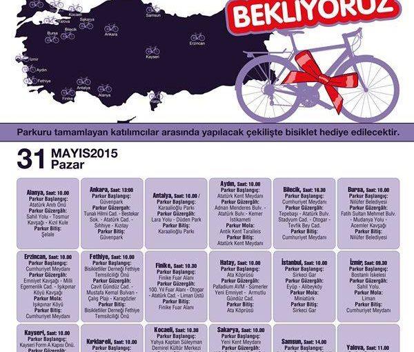 İltihabi Bağırsak Hastalıkları Bisiklet Turu