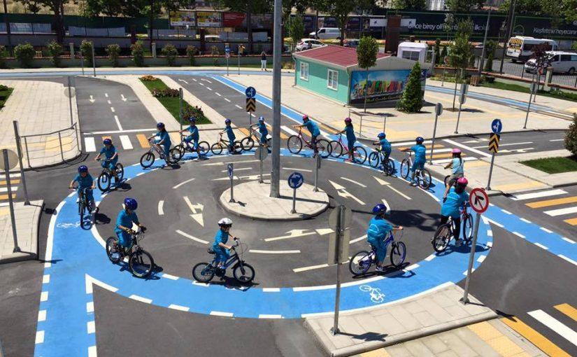 Bisikletle Trafik Eğitimi Başladı…