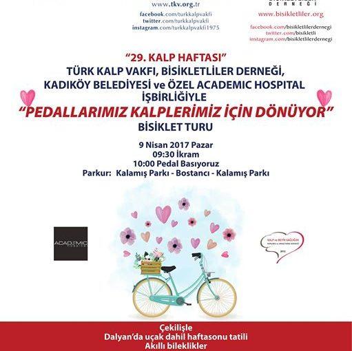 29. Kalp Haftası Bisiklet Turu