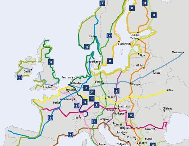 EUROVELO ( Avrupa Bisiklet Turizm Yol ağı ) Toplantısı