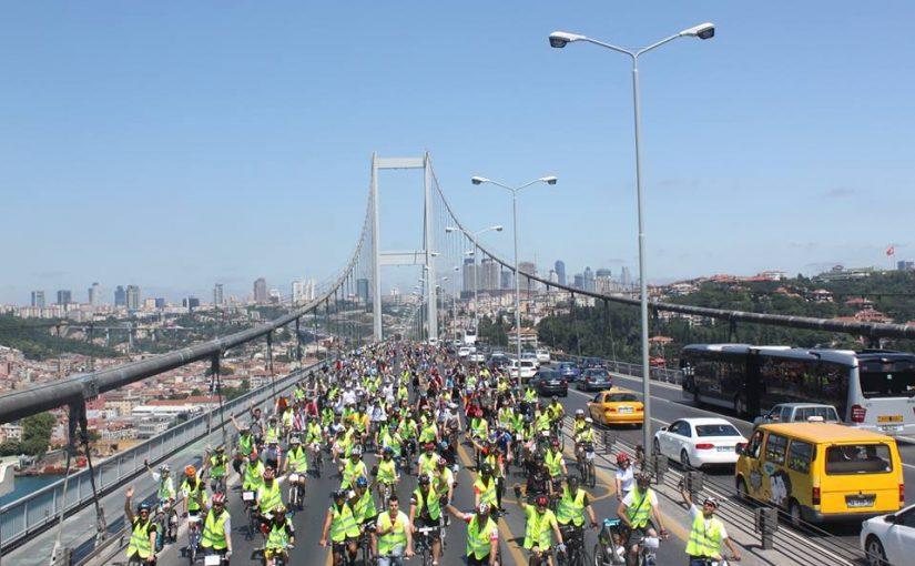 2013 Dünya Çevre Haftası Bisiklet Turu (Boğaz Köprüsü)