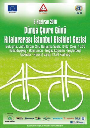 Dünya Çevre Haftası Kıtalararası Bisiklet Geçişi