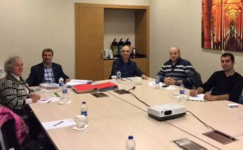 9. Dönem Yönetim Kurulu İlk Toplantısını Gerçekleştirdi